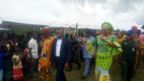 Local Govt  Tour: Mrs Obiano Visits Orumba North And South