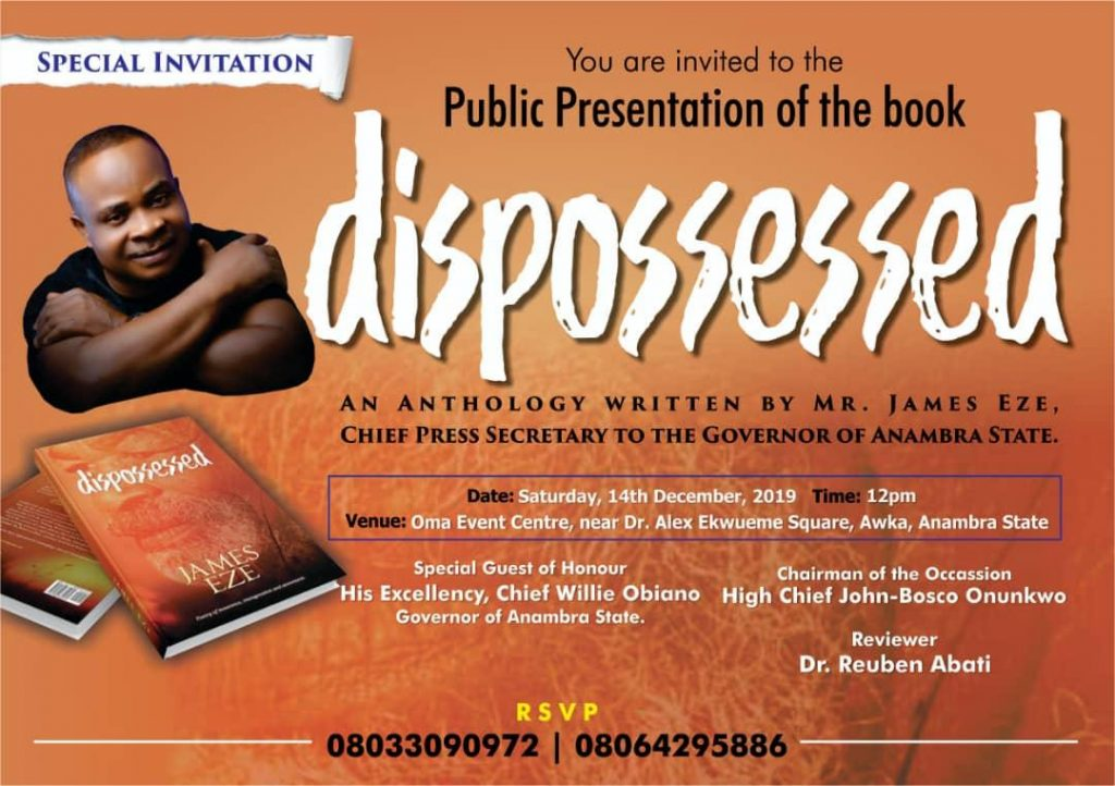 Reuben Abati To Serve As Reviewer At James Eze's 'Dispossessed' Public Presentation