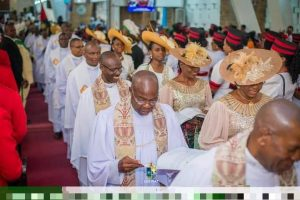 Bishop Nwokolo Ordains 9 Priests, Collates Deacons Archdeacons