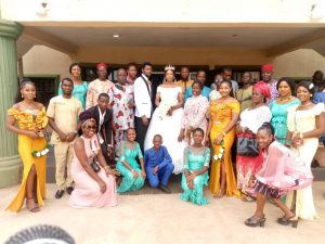 Chisom Nwude OfABS Weds Michael Nebo In Awka