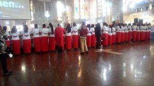 40 Anglican Faithful Initiated Into Knighthood Of St. Christopher, Lady Of Bethany