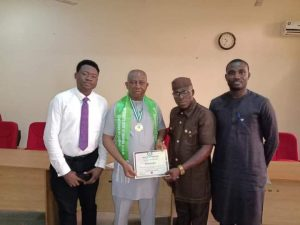 Anambra Lawmaker Obalim – Udoba Inducted Into Hall Of Fame Of IION