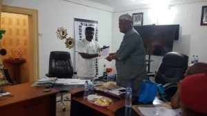 Management, Staff Of Anambra State Community And Social Development Agency Receive Meritorious Service Award