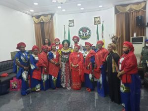 Mrs. Obiano Receives Wife of IGP, Pledges Support for POWA
